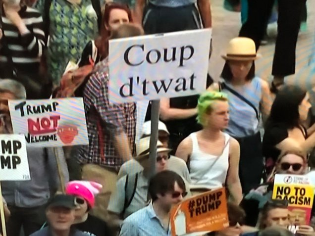 Brit curse Protest36