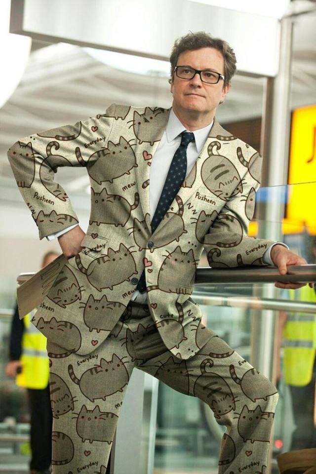 Colin Firth Gambit pusheen