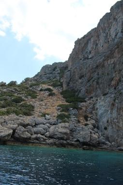 Lindos cliffs now (2)