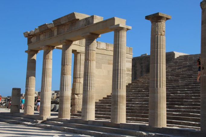 Lindos temple now (1)