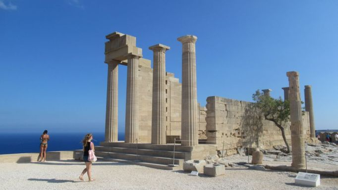 Lindos temple now (3)