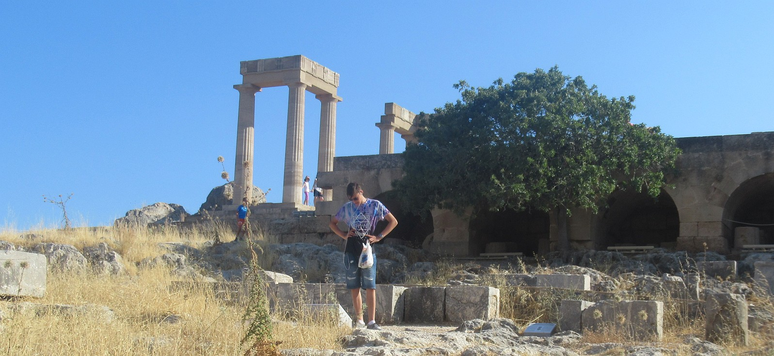 Lindos temple now (9)