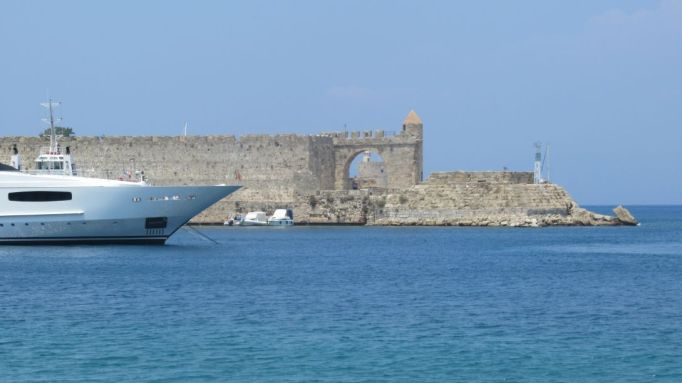 Rhodos harbour now (3)