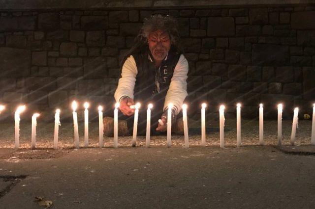 Christchurch candles tribute