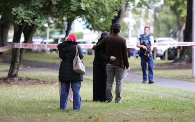 Christchurch Shooting Picture: The Book Of Esther