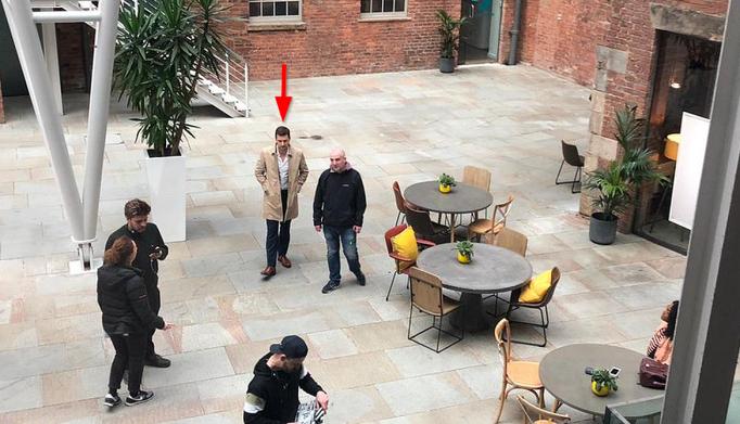 RA Stranger filming