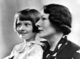 Audrey Hepburn & mother