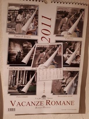 Roman Holiday calendar