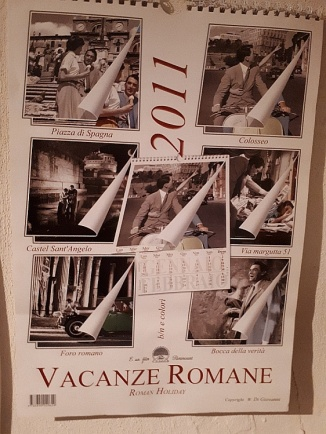 Roman Holiday calendar