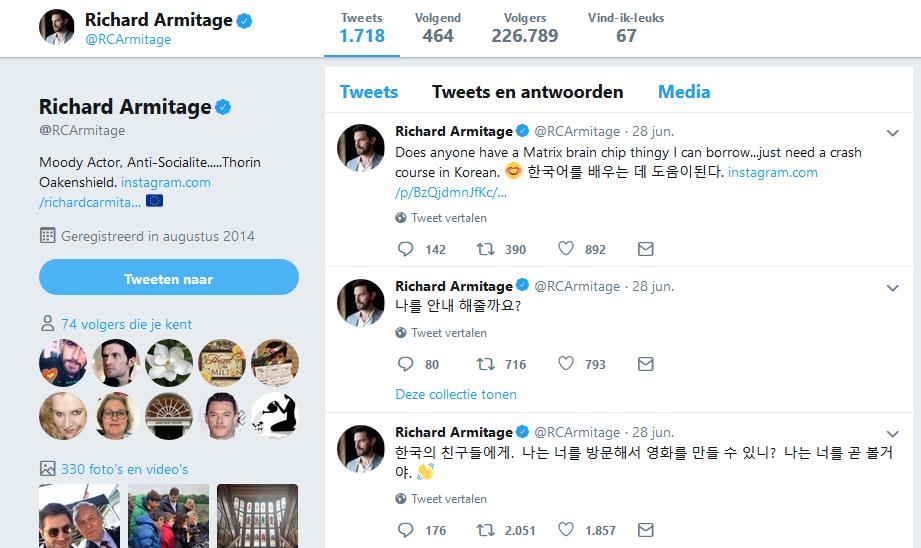 RA Korea Tweets