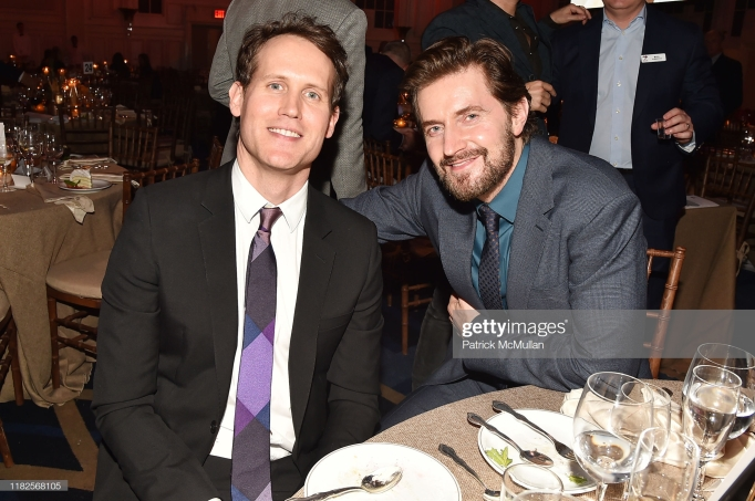 2019-1021 Jim Gibb and Richard Armitage attend the 13th Annual Golden Heart Awards -gettyimages