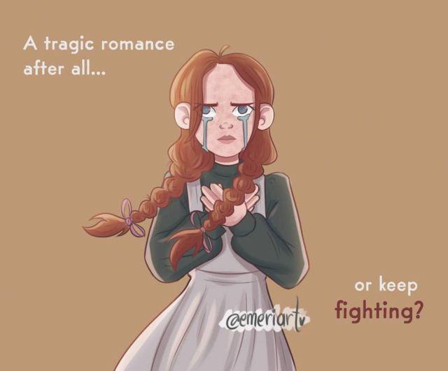 Emeriart Anne keep fighting