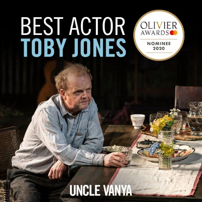 Toby Jones UV Olivier nomination